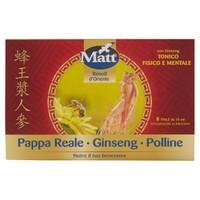 Pappa Reale Ginseng Polline Matt 8 Fiale