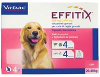 Effitix Antiparassitario Cani 20 / 40 kg