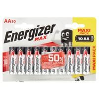 10 Pile Stilo Energizer Linea Max