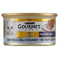 Alimento Umido Per Gatti Con Pesce Gourmet Gold