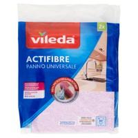 Panno Microfibra Multiuso Super - assorbente Actifibre Vileda , conf . da Pz .