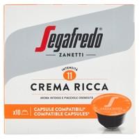 Caps Caffe ' Crema Ricca Compatibili Sistema Dolce Gusto Segafredo