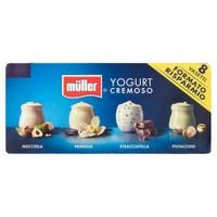 Crema Di Yogurt Muller Nocciola Vaniglia Stracciatella Pistacchio 8 Da