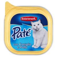 Pate ' Per Gatti Coniglio E Pollo Bennet
