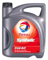 Olio Lubrificante Per Auto Total Synt 100 % Sintetico 5 w 40 L . 4
