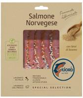 Salmone Norvegese Affumicato Con Sesamo Fjord
