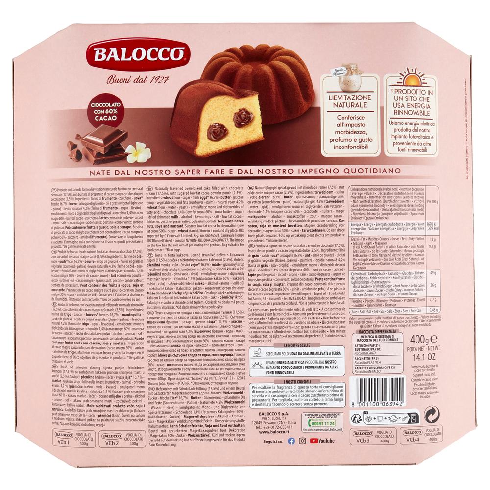 TORTA CIOCCOL.BALOCCO