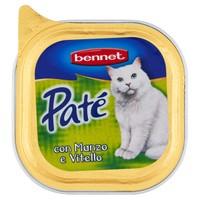 Pat Per Gatti Manzo E Vitello Bennet