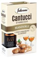 Valigetta Cantucci Alla Mandorla + Vino Dolce