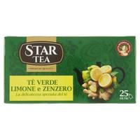 Te ' Verde Limone E Zenzero Star 25 Filtri