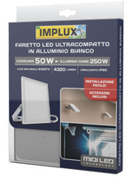 Faretto A Led Ultrapiatto 250 w