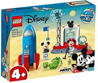 Il Razzo Spaziale Di Topolino E Minnie Lego Disney 4+