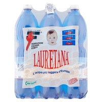 Acqua Naturale Lauretana 6 Da L . 1 , 5