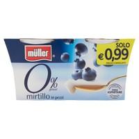 Yogurt Mirtillo 0 , 1 % Muller