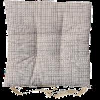 Cuscino Sedia Tessuto Stampato Cm 40 x 40 Grigio
