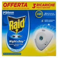 Ricarica Per Elettroemanatore Antizanzare Night & day Raid , Conf . Da 3 Ri