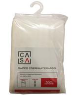 Sacco Coprimaterasso Fasciato Con Zip 1 Piazza 1 / 2 Cm 120 x 200 Casa