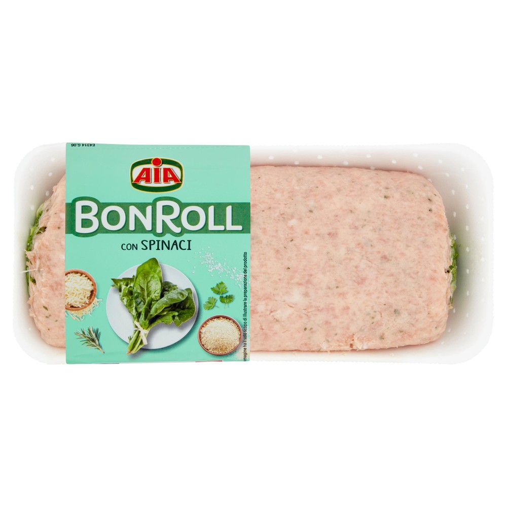 BON ROLL SPINACI   AIA