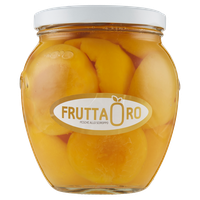 Pesche Sciroppate Vaso Orcio Frutta Oro