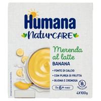 Merenda Humana Latte E Banana