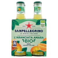 Aranciata Amara Bio San Pellegrino 4 Da Cl . 20 Cad .