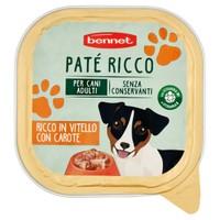 Pate ' Per Cani Ricco Bennet Vitello E Carote