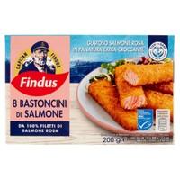 8 Bastoncini Di Salmone Capitan Findus