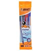 4 Penne Cristal Soft Colori Assortiti