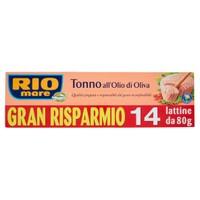 Tonno In Olio D ' oliva Rio Mare 14 Da Gr . 80