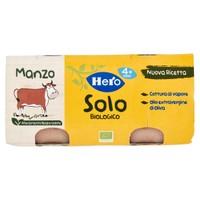 Omogeneizzato Solo Di Manzo Bio Hero 2 Da Gr . 80