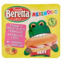 Merendino Cotto Edamer + Frullato Pesca Beretta