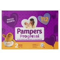 Pannolini Progressi Mini Pampers Quadripack