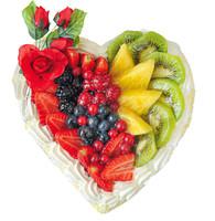 Torta Alla Frutta Cuore