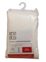 Sacco Coprimaterasso Fasciato Con Zip 2piazze Cm180x200 Casa