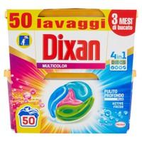 Detersivo Per Lavatrice Dixan Discs Color 2 Da 25 Cad.