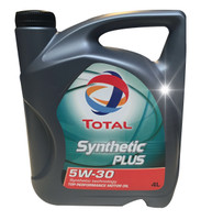Olio Lubrificante Per Auto Total Synthetic Plus 5 w 30100 % Sintetico L .