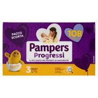 Pannolini Progressi Midi Pampers Quadripack