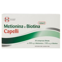 Metionina E Biotina Retard Capelli Matt 30 Compresse