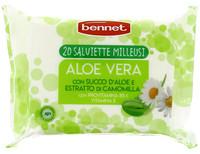 Salviettine Milleusi Aloe Bennet