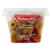 Olive Verdi Farcite Con Peperone