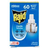 Ricarica Liquida 60 Notti Per Elettroemanatore Raid