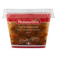 Olive Verdi Schiacciate Piccanti Nocellara Etnea