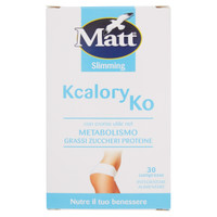 Kcalory Ko Matt & diet 30 Compresse