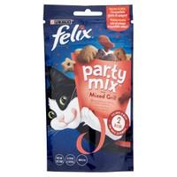 Snack Per Gatti Manzo Pollo Salmone Felix Partymix Grill