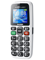 Telefono Cellulare Amico Unico Brondi Bianco