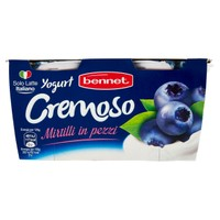 Yogurt Intero Bennet Mirtillo 2 Da Gr . 125