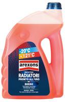 Liquido Protettivo Radiatori Rosso -20° 4,5l Arexons