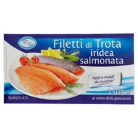 Filetti Di Trota Iridea Salmonata Oggi Pesce