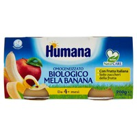 Omogeneizzato Di Mela E Banana Bio Humana