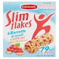 6 Barrette Di Cereali Con Mirtilli Rossi Bennet